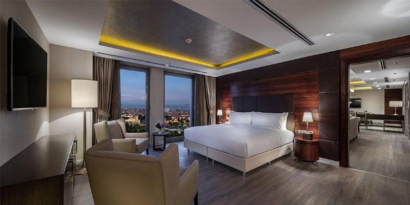 امکانات هتل اینترکنتینانتال استانبول