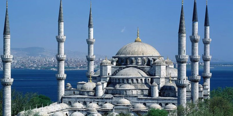 مسجد سلطان احمد استانبول معروف به مسجد آبی