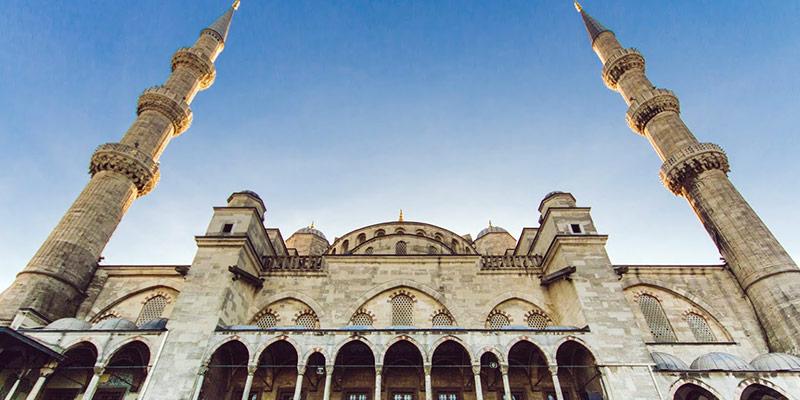 مسجد جامع آبی استانبول