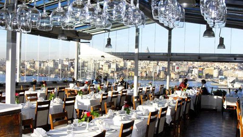غذاهای دریایی استانبول