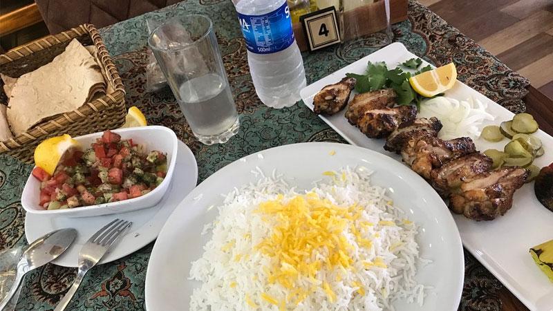 غذاهای رستوران ایرانی مژگان