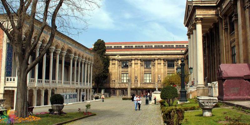 موزه باستان شناسی شرق استانبول