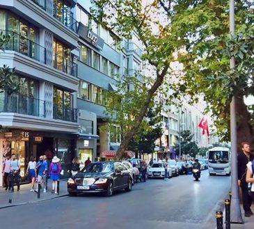 خیابان بغداد استانبول ترکیه در بخش آسیایی