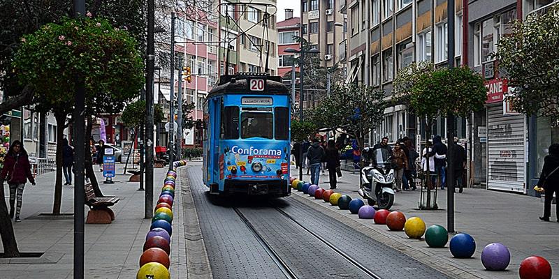 چگونه از تکسیم به خیابان بغداد استانبول برویم
