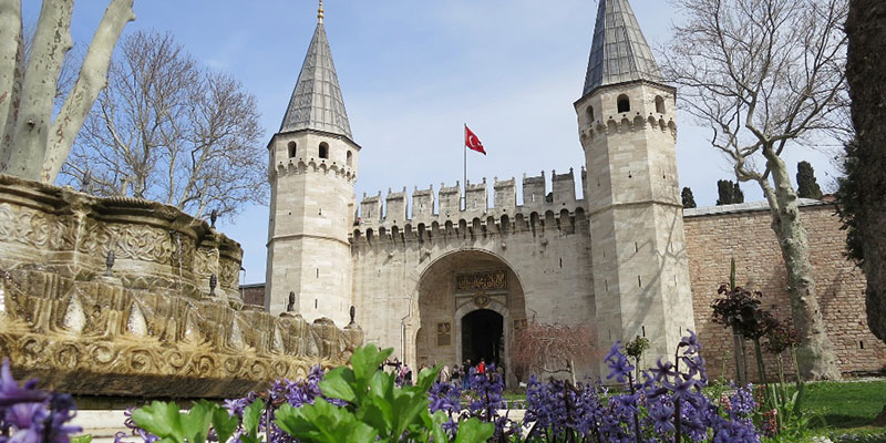 کاخ توپکاپی استانبول کجاست؟