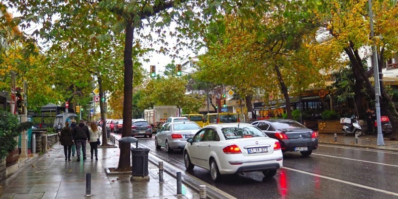 چگونه به خیابان بغداد استانبول برویم
