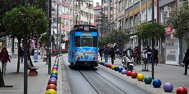 منطقه کادیکوی خیابان بهاریه استانبول