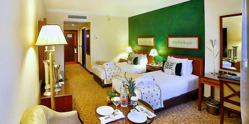 اتاق های هتل گراند جواهر استانبول شیشلی