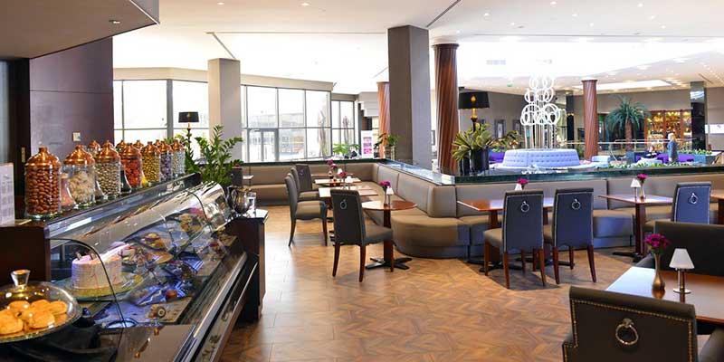 رستوران و کافی شاپ هتل جواهر شیشلی استانبول