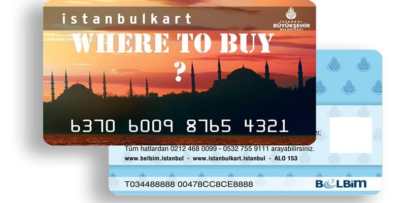 استانبول کارت برا چه وسایل نقلیه ای قابل استفاده است؟
