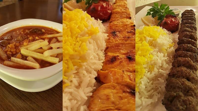 کیفیت مناسب غذاهای رستوران شهرزاد