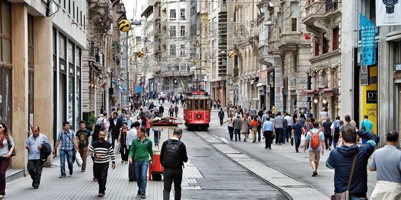 خیابان های محبوب استانبول