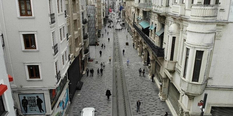 تاریخچه خیابان استقلال