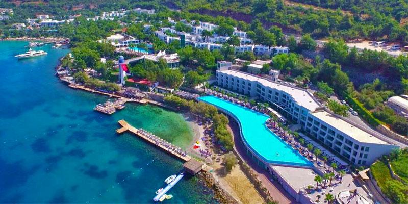 هتلهای لاکچری بدروم با ساحل اختصاصی مناسب اقامت