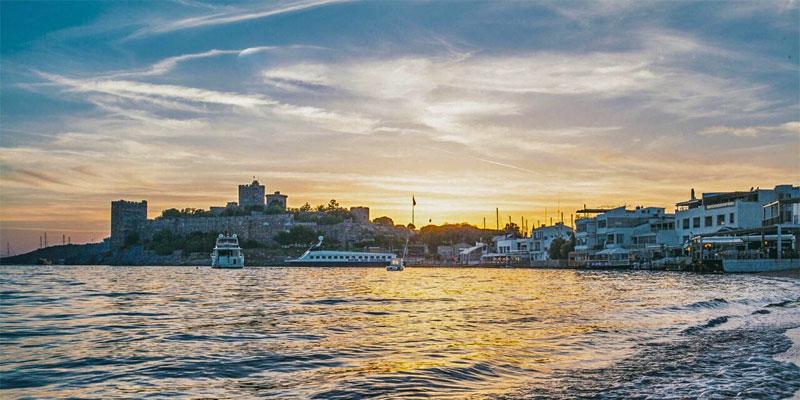 شهر بدروم ترکیه، شهری تاریخی و توریستی در ترکیه