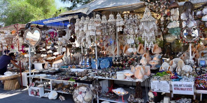 بازار قدیمی بدروم، محلی مناسب برای خرید سوغات