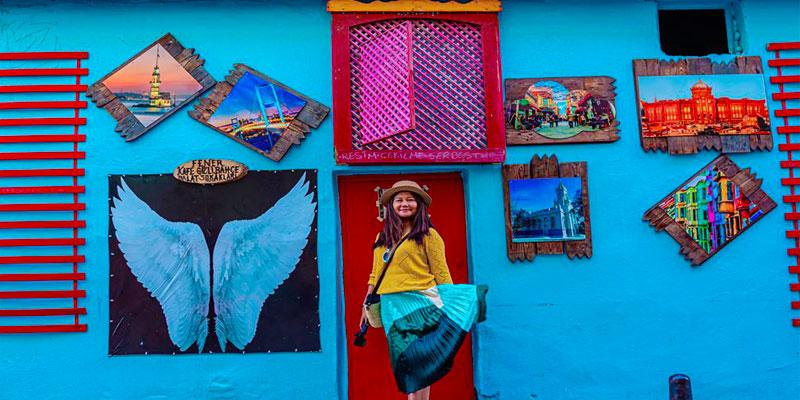محله بالات استانبول، یک تفریح رایگان در میان خانههای رنگی