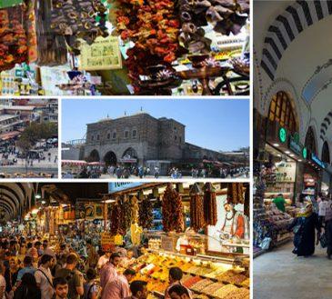 معرفی بازار ادویه استانبول