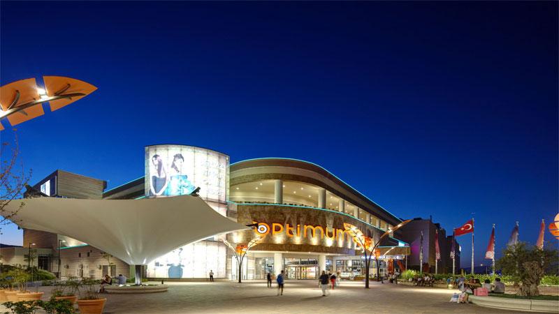 مرکز خرید اپتیموم اوت لت، یکی از جدیدترین مراکز خرید ازمیر