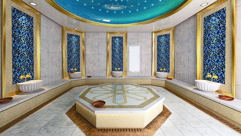حمام سنتی ترکی در مارماریس، تجربه تفریح و آرامش در ترکیه
