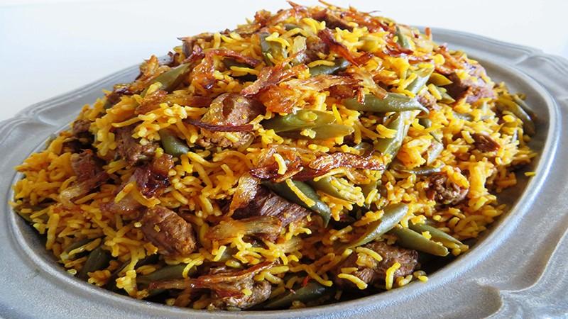 طرز تهیه استانبولی ترکیه ای با گوشت
