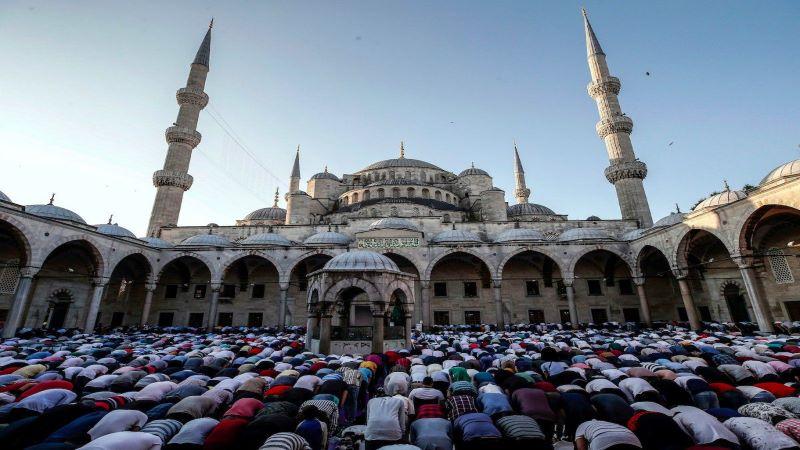 برگزاری مراسم عیدفطر در ترکیه