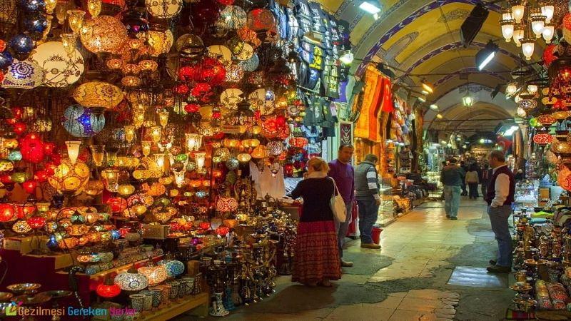 بزرگترین بازار شهر ازمیر